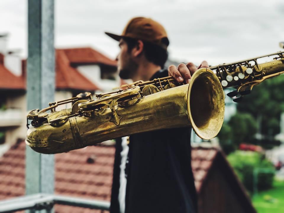 Saxophonist für Geburtstag Wien